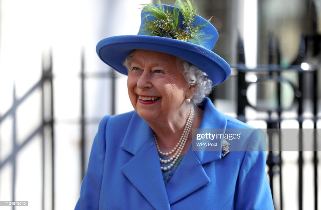 The Queen Visits Watergate House To Mark The Centenary Of GCHQ : News Photo