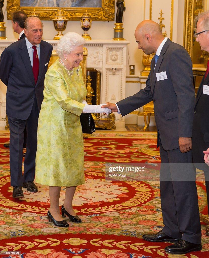 Queen's Awards For Enterprise 2015 Reception : News Photo