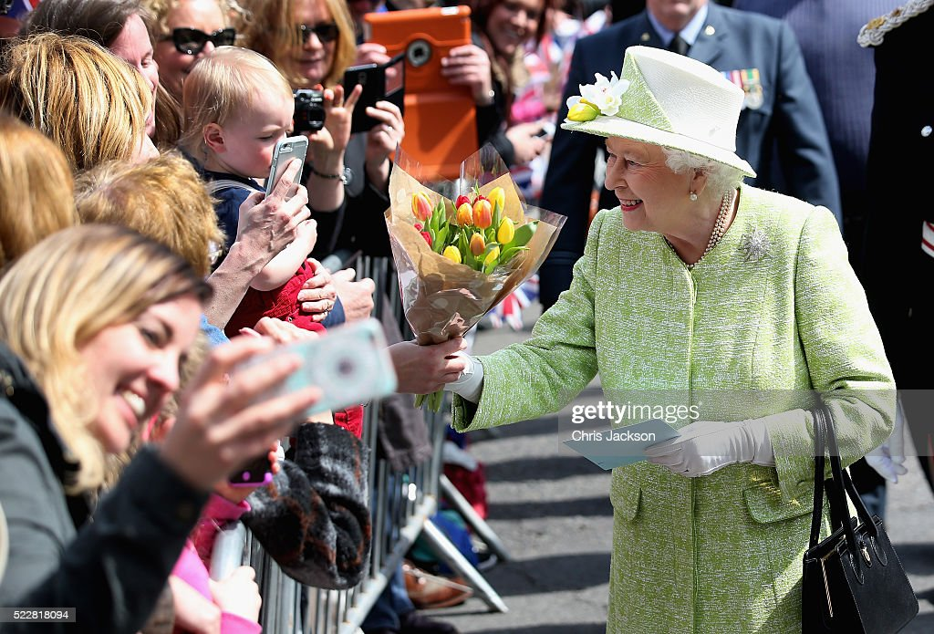 The Queen & Duke Of Edinburgh Carry Out Engagements In Windsor : News Photo