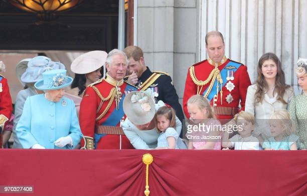 Queen Elizabeth II Meghan Duchess of Sussex Prince Charles Prince of Wales Prince Harry Duke of Sussex Catherine Duchess of Cambridge Prince William...