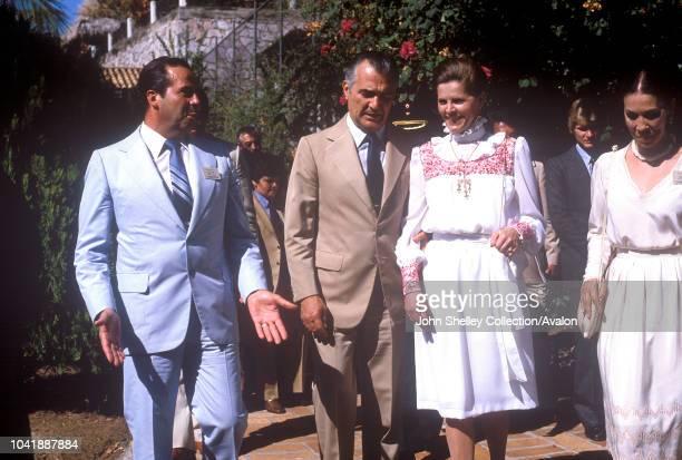 Queen Elizabeth II, Mexico, Miguel de la Madrid, President of Mexico , 17th February 1983.