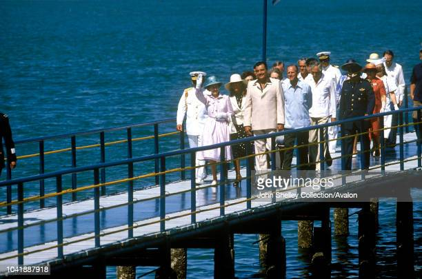 Queen Elizabeth II Mexico Prince Philip Duke of Edinburgh 17th February 1983