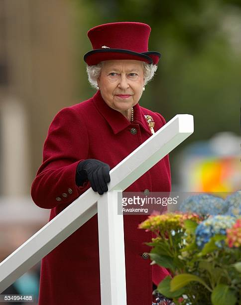 HM Queen Elizabeth II official visit to Bradford