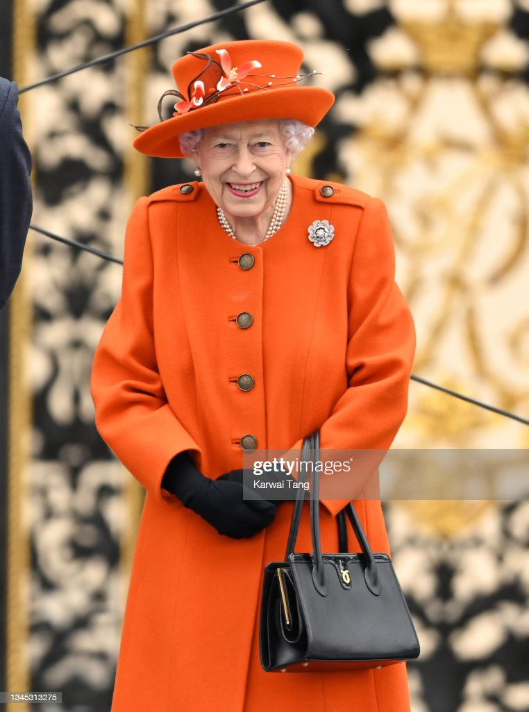 The Queen's Baton Relay At Buckingham Palace : News Photo