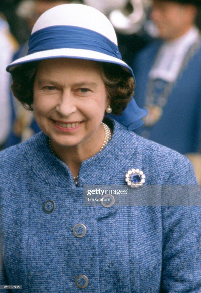 Queen In Switzerland : News Photo