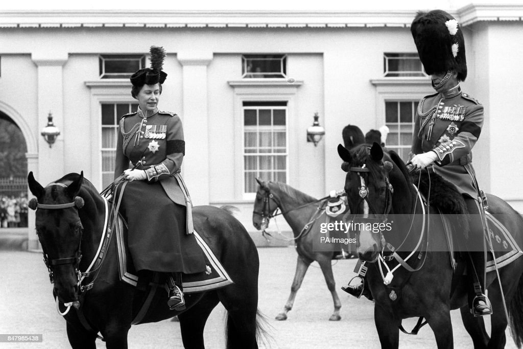Royalty - Trooping of the Colour - London : Nieuwsfoto's
