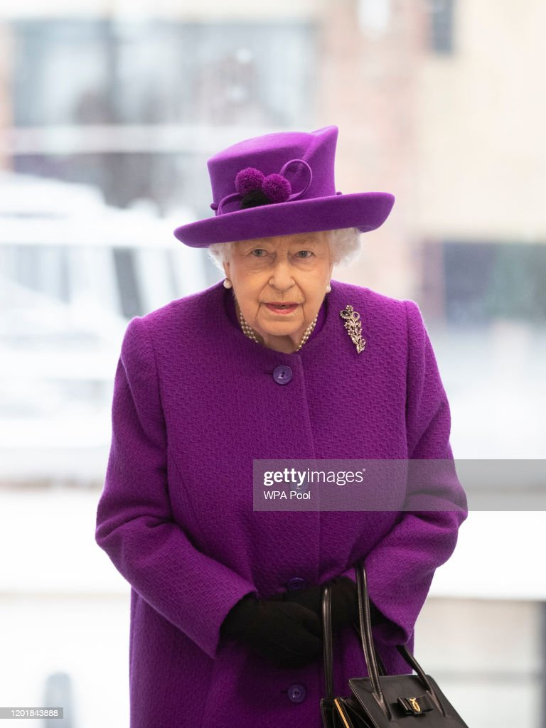 The Queen Opens The New Premises Of The Royal National ENT And Eastman Dental Hospital : News Photo