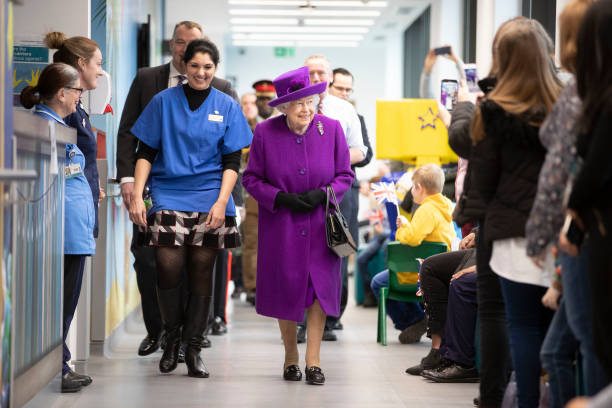 GBR: The Queen Opens The New Premises Of The Royal National ENT And Eastman Dental Hospital