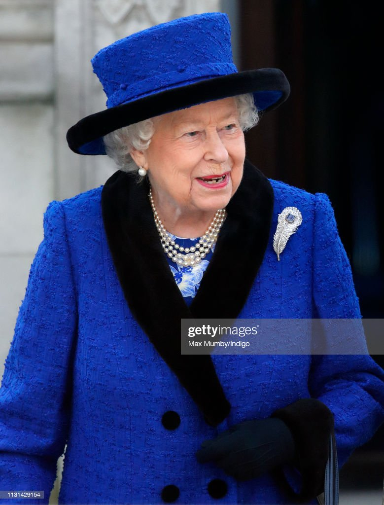 The Queen Attends Service To Celebrate 100 Years Of The Royal Army Chaplains' Department's 'Royal' Prefix : News Photo