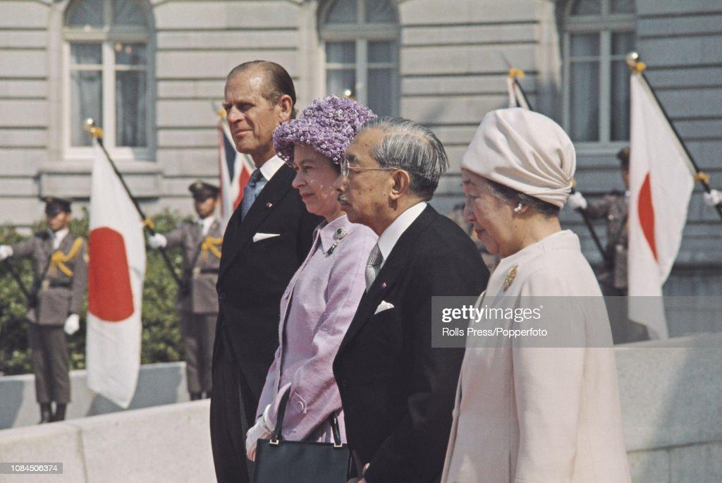 Queen Elizabeth II In Japan : News Photo