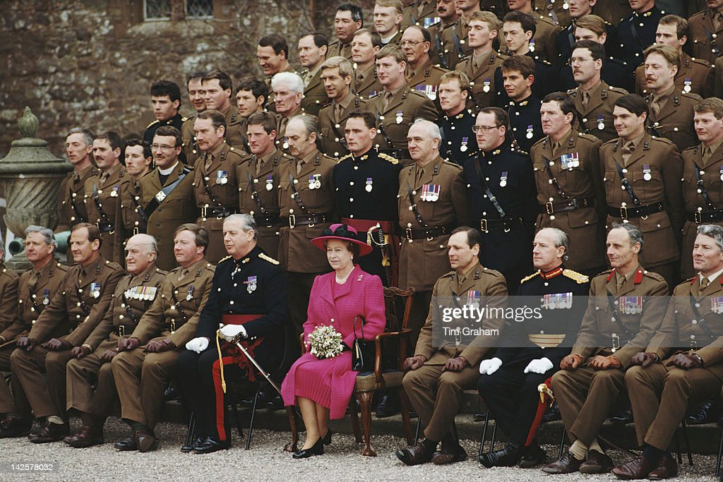 Queen At Powis Castle : News Photo
