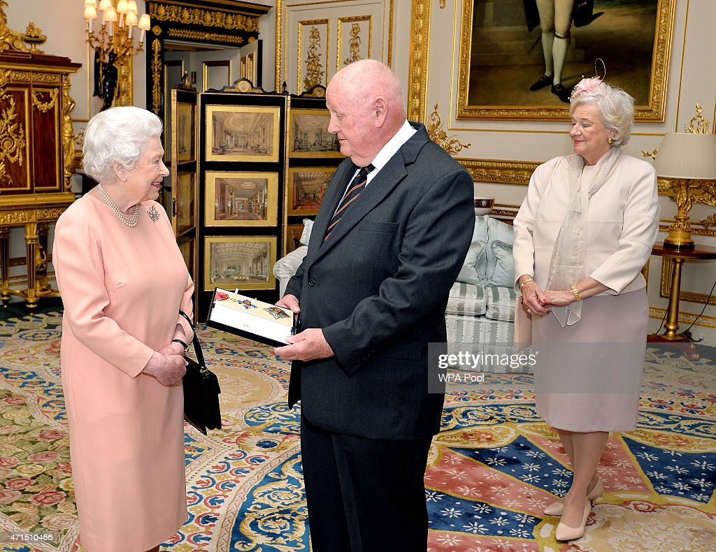 John Mars Receives Knighthood From The Queen : News Photo