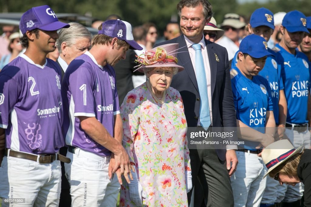 Cartier Queen's Cup polo tournament -Windsor : News Photo