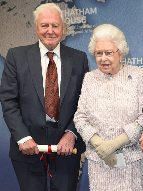 GBR: The Queen Presents The Chatham House Prize 2019