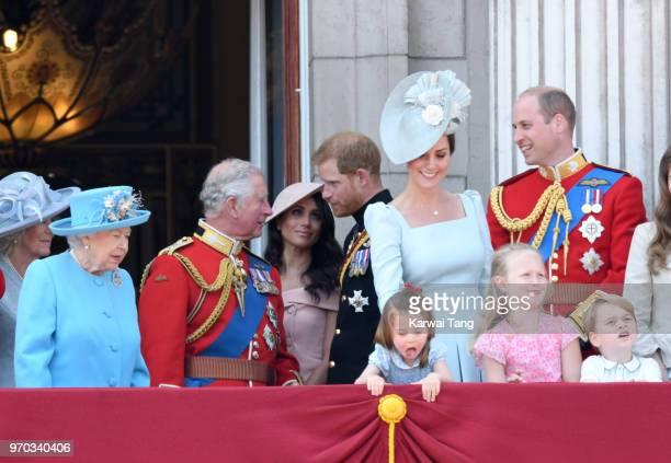 Queen Elizabeth II Prince Charles Prince of Wales Meghan Duchess of Sussex Prince Harry Duke of Sussex Catherine Duchess of Cambridge Princess...