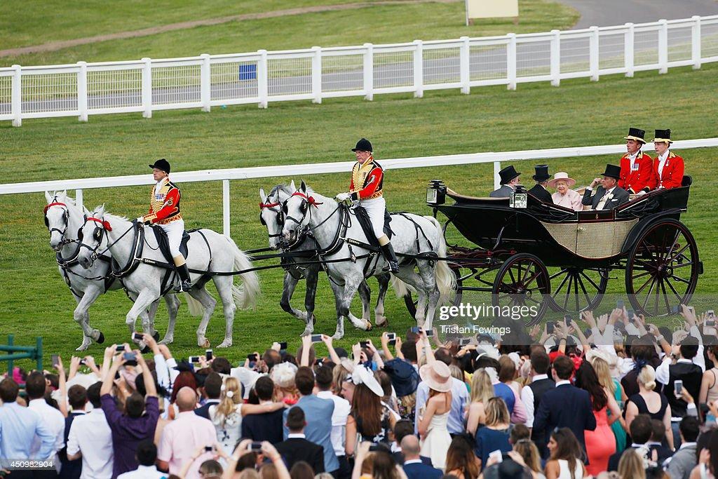 Royal Ascot 2014 Day Five : News Photo