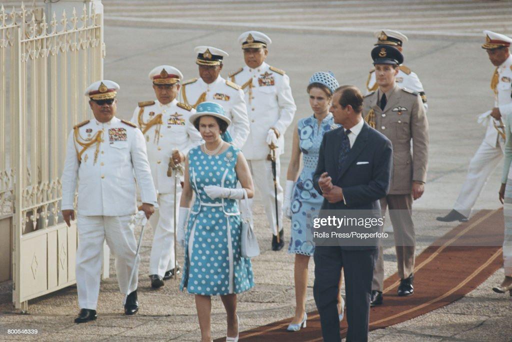 Royal Tour Of Thailand : News Photo