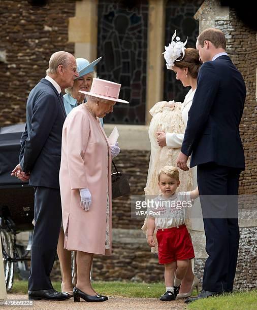 Queen Elizabeth II Prince Phillip Duke of Cambridge Camilla Duchess of CornwallCatherine Duchess of Cambridge Prince William Duke of Cambridge...