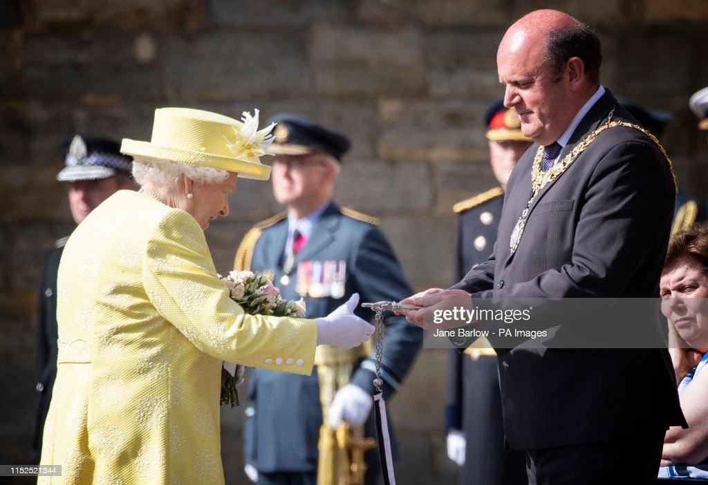 Queen in Scotland : News Photo