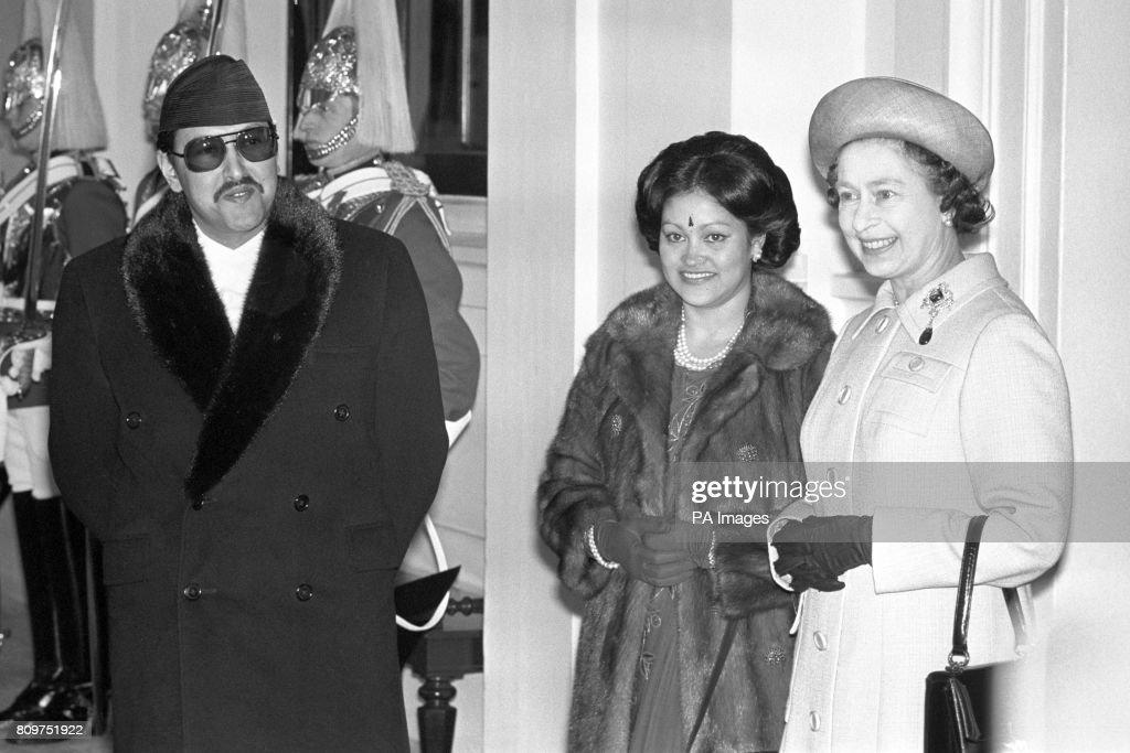 Royalty - King Birendra of Nepal State Visit - London : News Photo