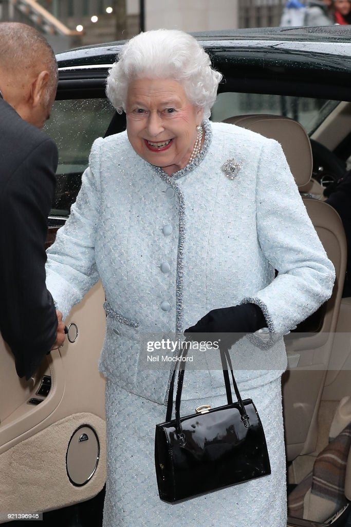 The Queen Visits London Fashion Week