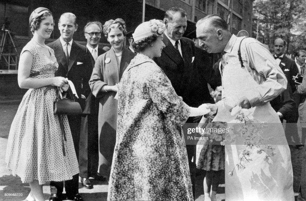 Royalty - Queen Elizabeth II State Visit to Denmark - Copenhagen : News Photo