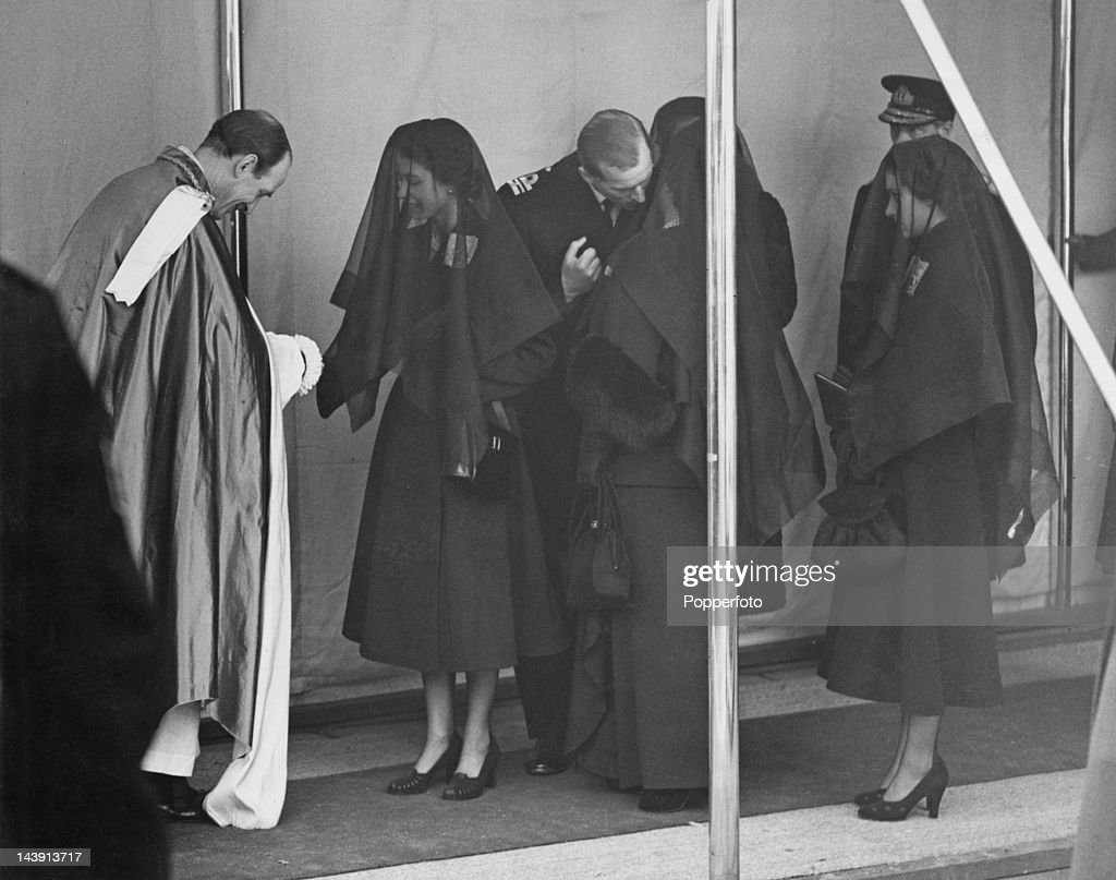Funeral Of George VI : News Photo