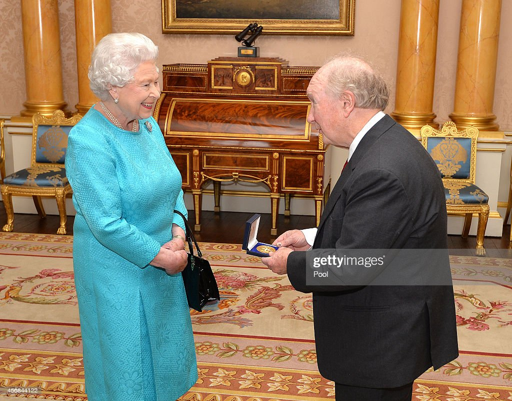 Credentials Presented To Queen Elizabeth II At Buckingham Palace : News Photo