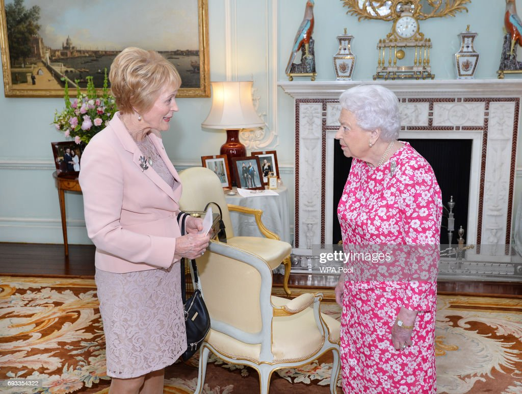 Queen Elizabeth II Receives Tge Governor of Western Australia : News Photo