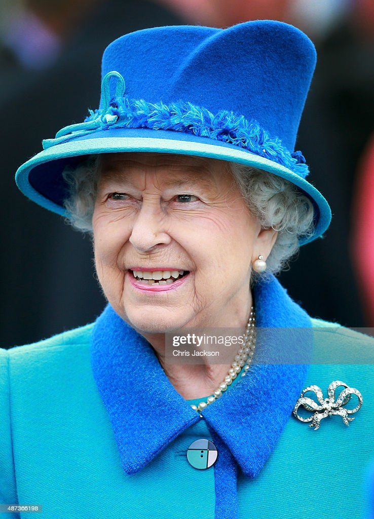 Queen Elizabeth II Becomes Britain's Longest Reigning Monarch : News Photo