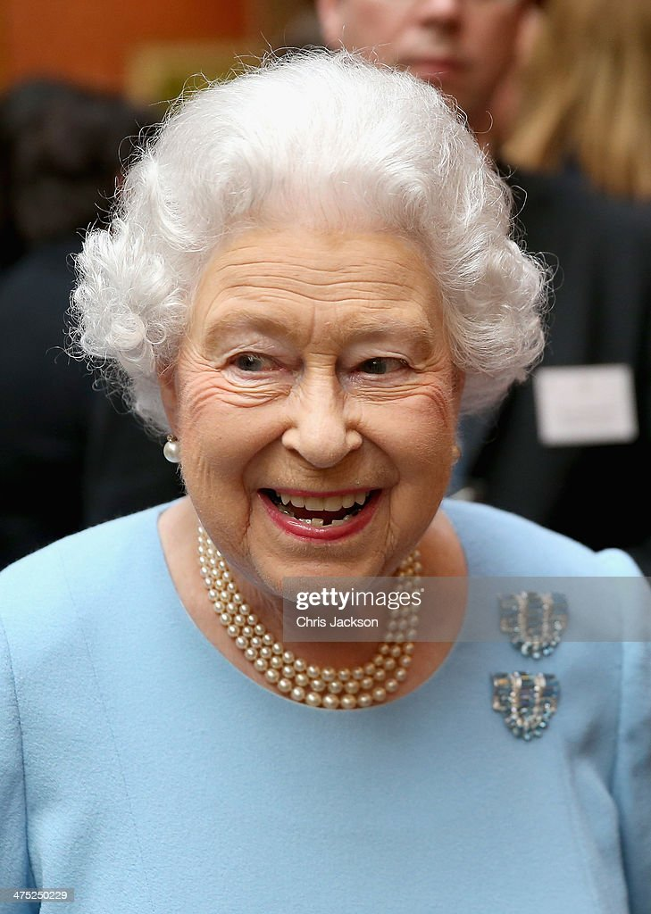 The Queen And Prince Phillip Award The Queen's Anniversary Prizes : News Photo