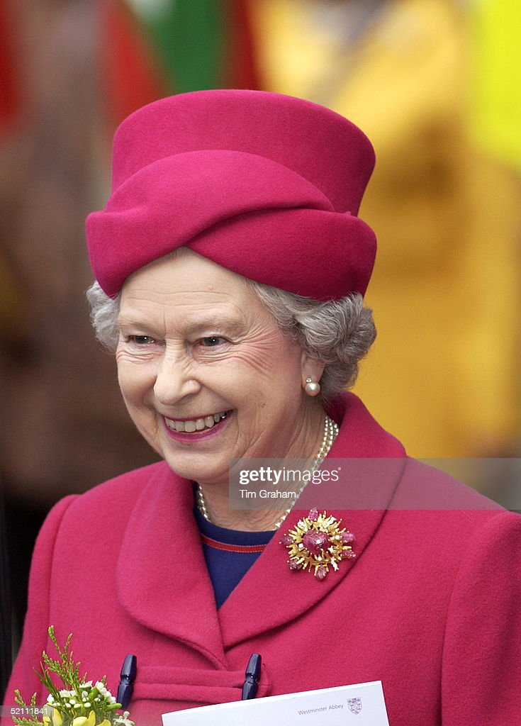 Queen Commonwealth Day : News Photo