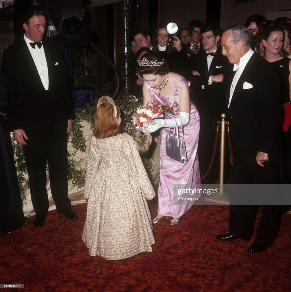 Film - Royal Film Performance - 'Anne of a Thousand Days' - Odeon, Leicester Square, London : News Photo