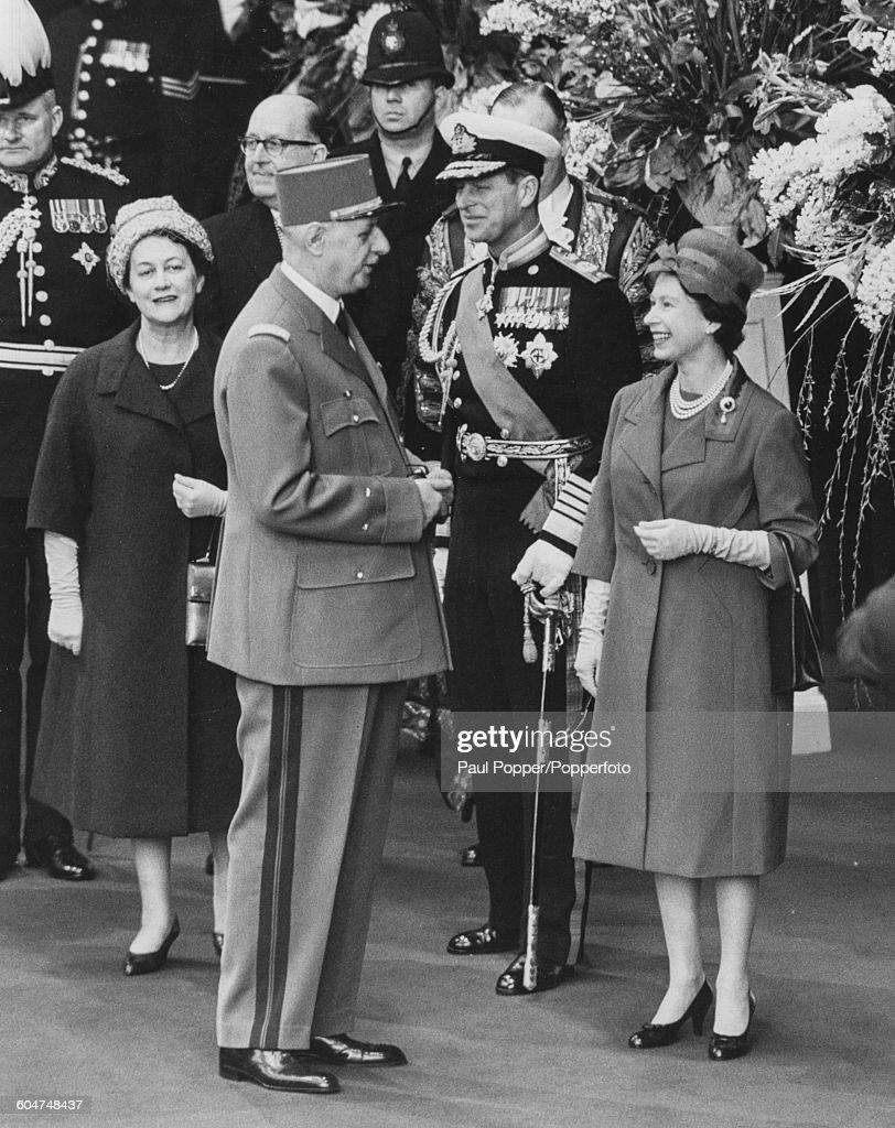 Charles De Gaulle Visits London : News Photo