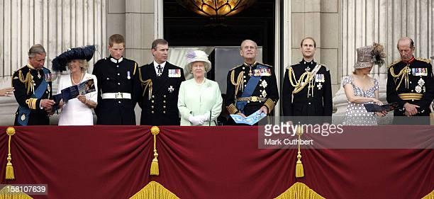 Queen Elizabeth Ii The Duke Of Edinburgh The Prince Of Wales The Duchess Of Cornwall Prince Harry The Earl Countess Of Wessex The Duke Of York The...