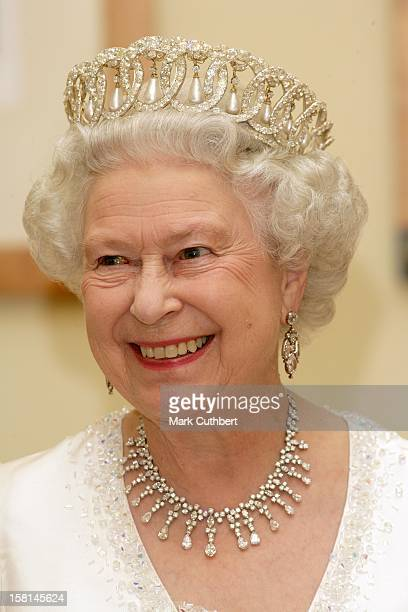 Queen Elizabeth Ii The Duke Of Edinburgh Visit The Baltic StatesState Banquet In At The Presidential Palace In Vilnius Lithuania