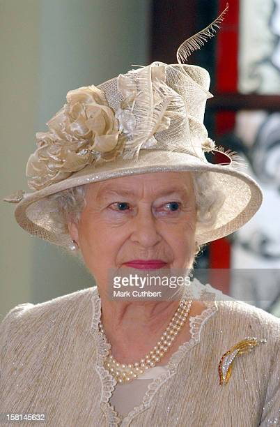 Queen Elizabeth Ii The Duke Of Edinburgh Visit The Baltic StatesState Lunch At The House Of The Blackheads In Riga Latvia