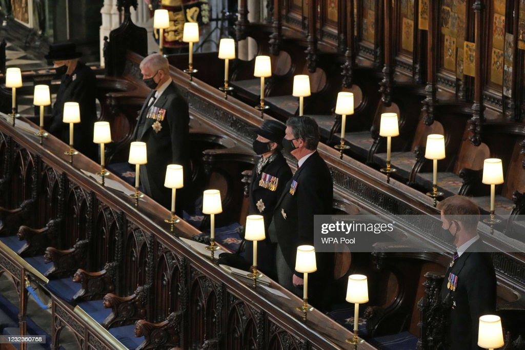 The Funeral Of Prince Philip, Duke Of Edinburgh Is Held In Windsor : Fotografía de noticias