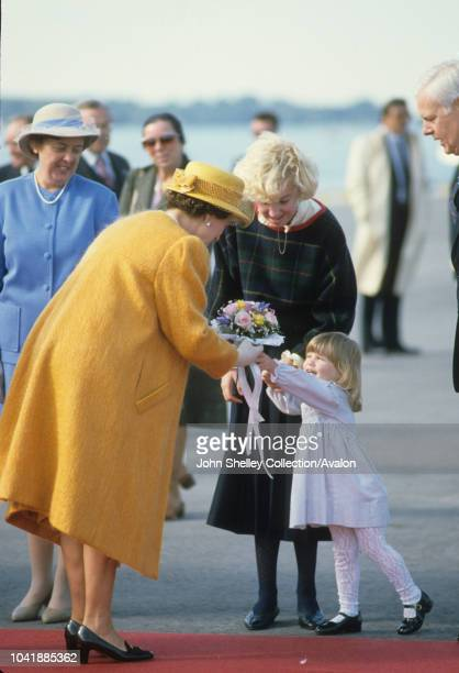 Queen Elizabeth II Tour of Canada 24th September 1984
