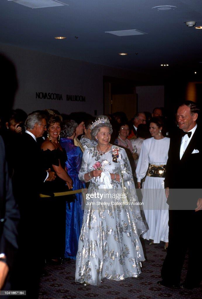 Queen Elizabeth II Visits Canada : News Photo