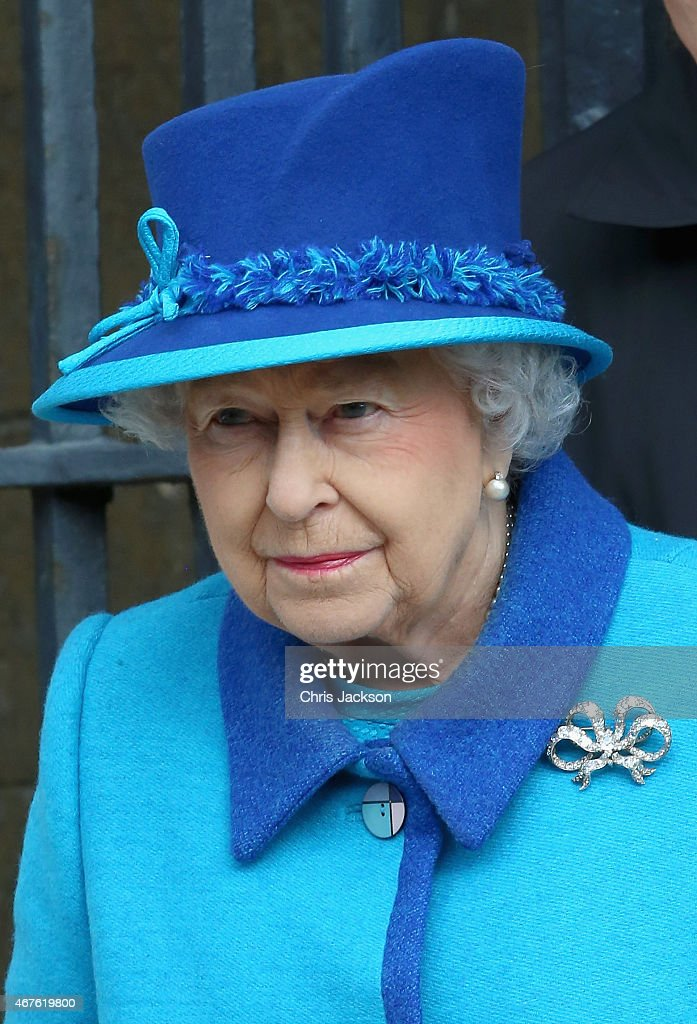 The Queen And Duke Of Edinburgh Visit Kent : News Photo