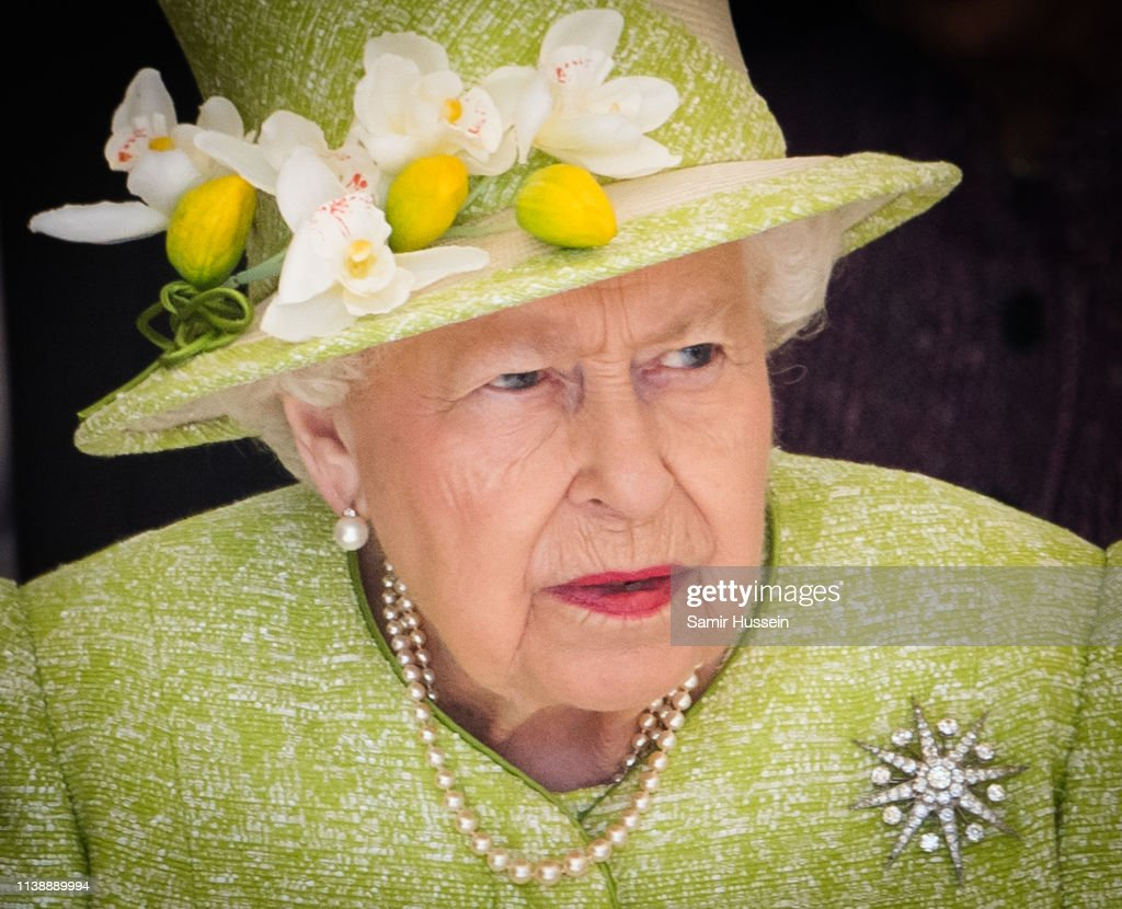 Her Majesty Queen Elizabeth II Visits Somerset : News Photo