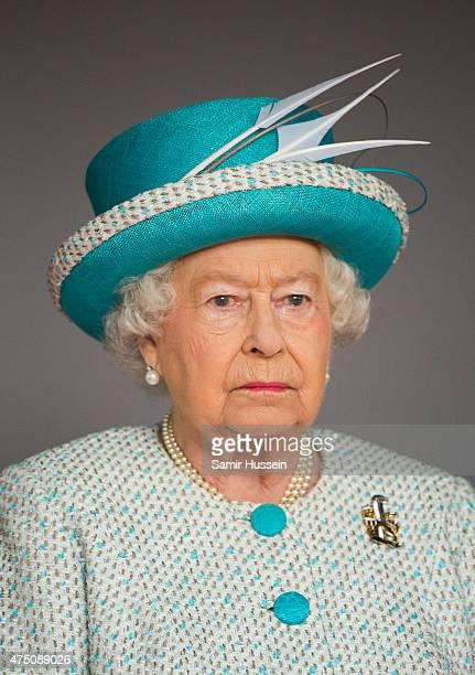 Queen Elizabeth II visits Lancaster Castle on May 29, 2015 in Lancaster, England.