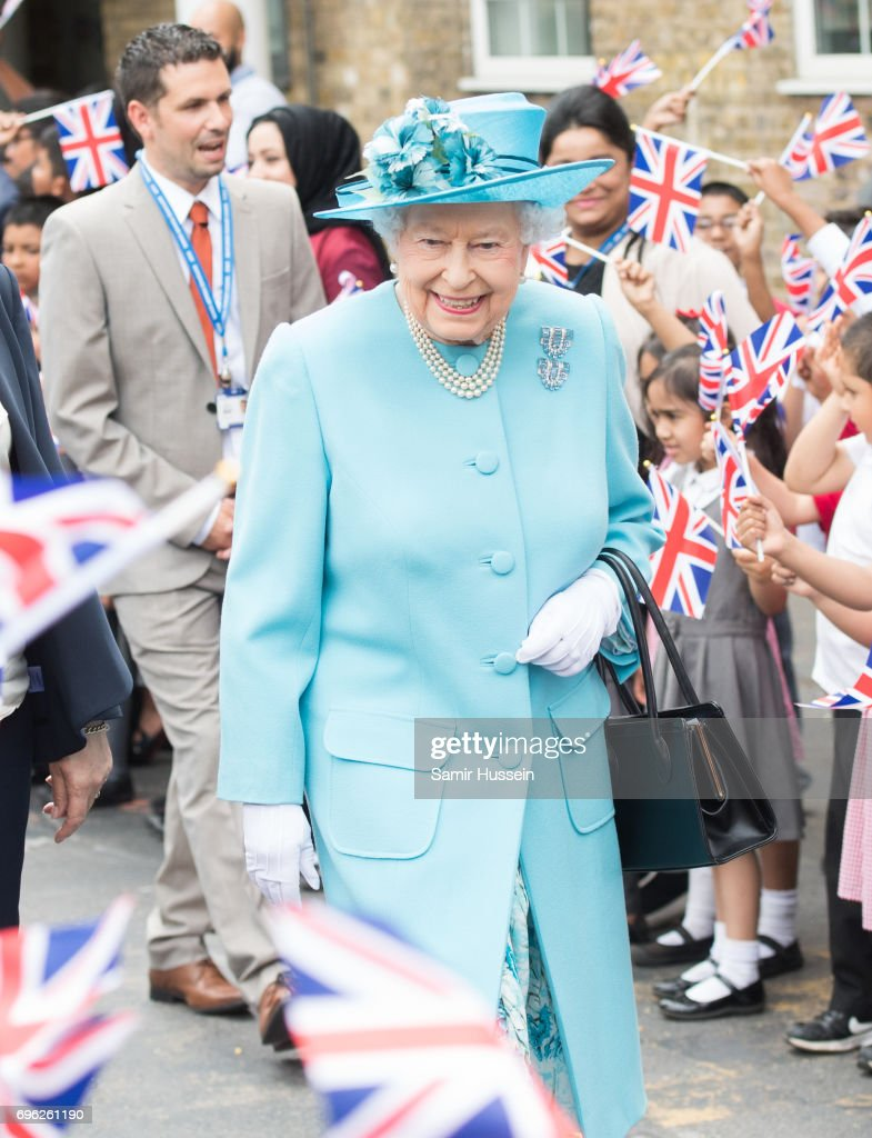 The Queen And Duke Of Edinburgh Visit Tower Hamlets : News Photo