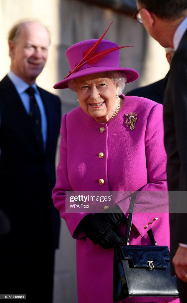 The Queen And The Duke Of York Visit The Honourable Society Of Lincoln's Inn : News Photo