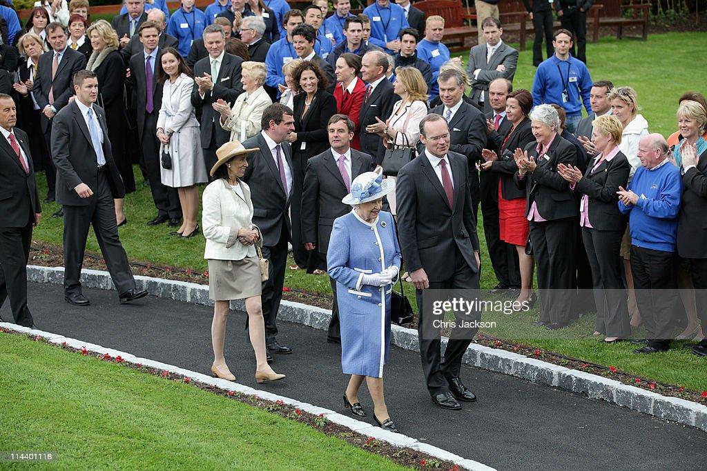 Queen Elizabeth II's Historic Visit To Ireland - Day Three : News Photo