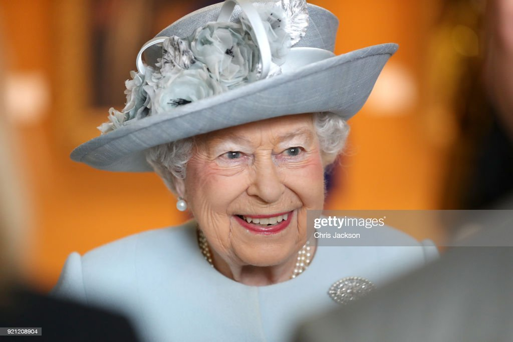 The Queen Visits The Royal College Of Physicians
