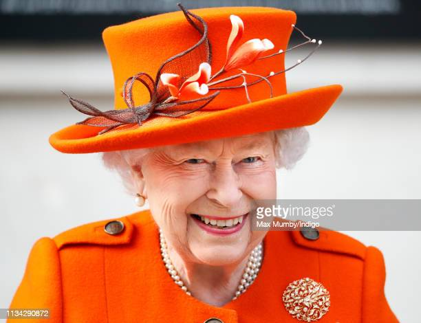 Queen Elizabeth II visits the Science Museum to announce its summer exhibition Top Secret and unveil a new space for supporters to be known as the...
