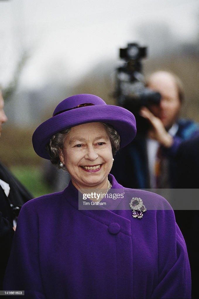 Queen In Snettisham : News Photo