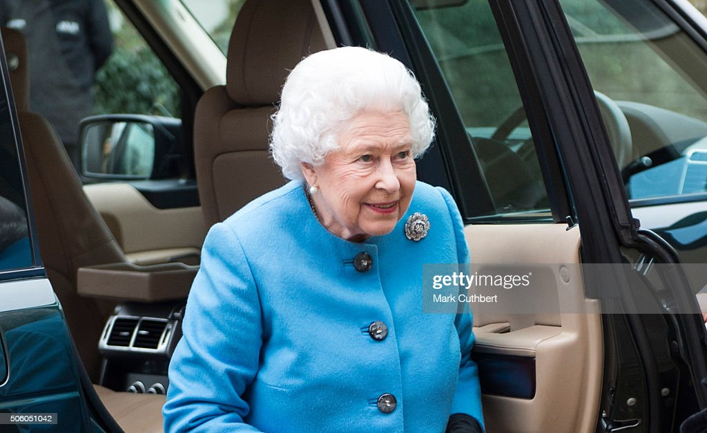 The Queen Visits The Women's Institute : News Photo